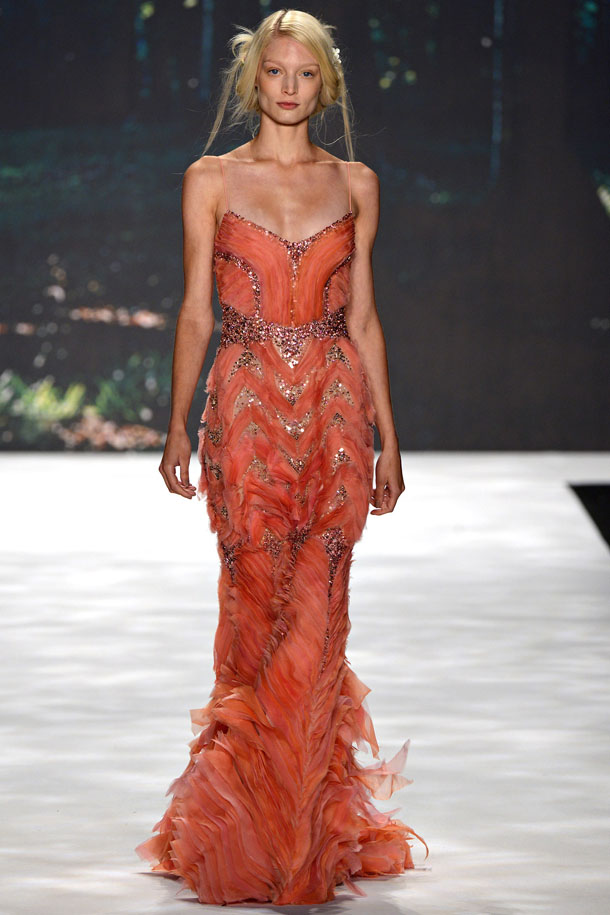 Badgley Mischka Spring/Summer 2013