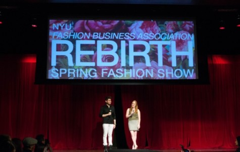 NYU students designs show Rebirth at FBA fashion show