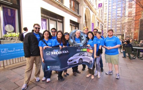Students plan Honda ad campaign