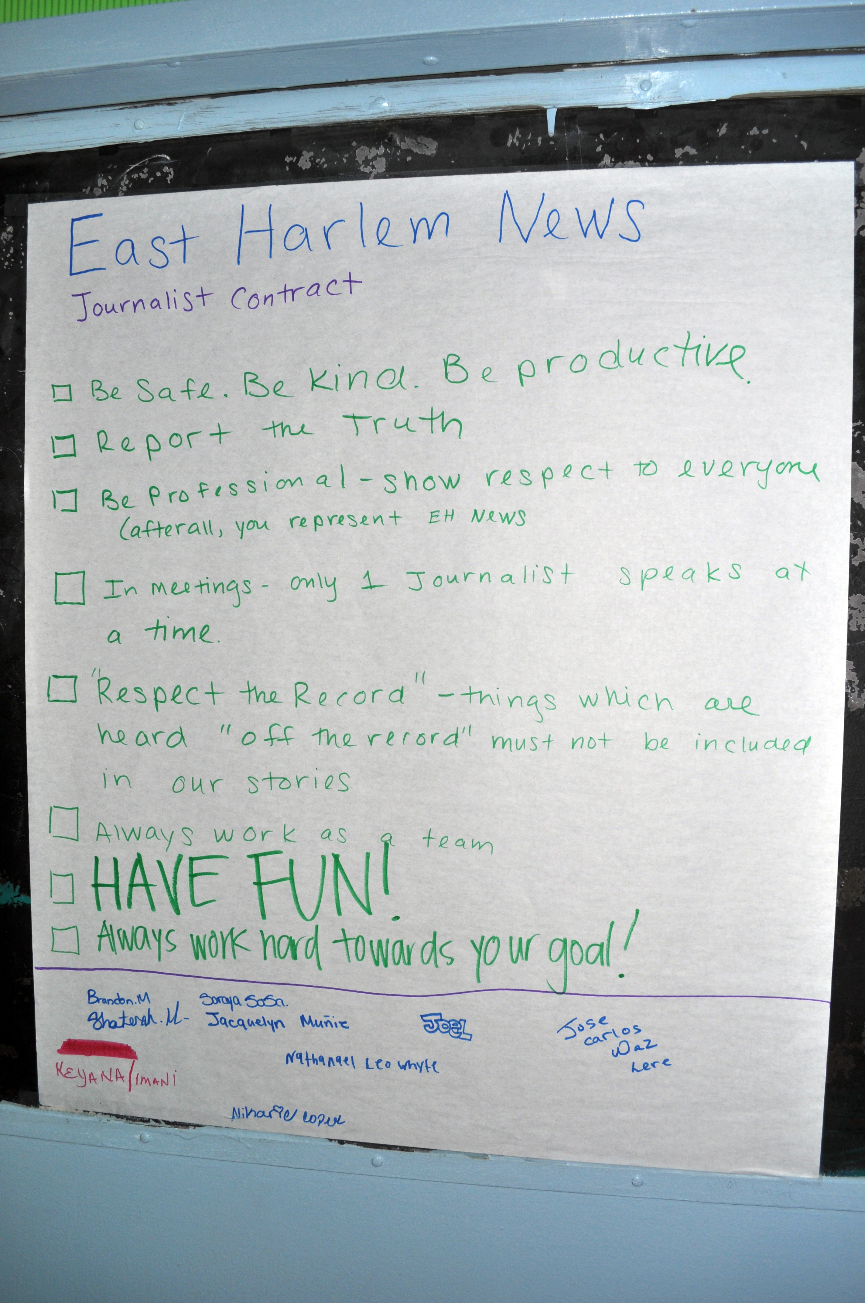 What's a Byline? – A Warm Welcome to East Harlem News!