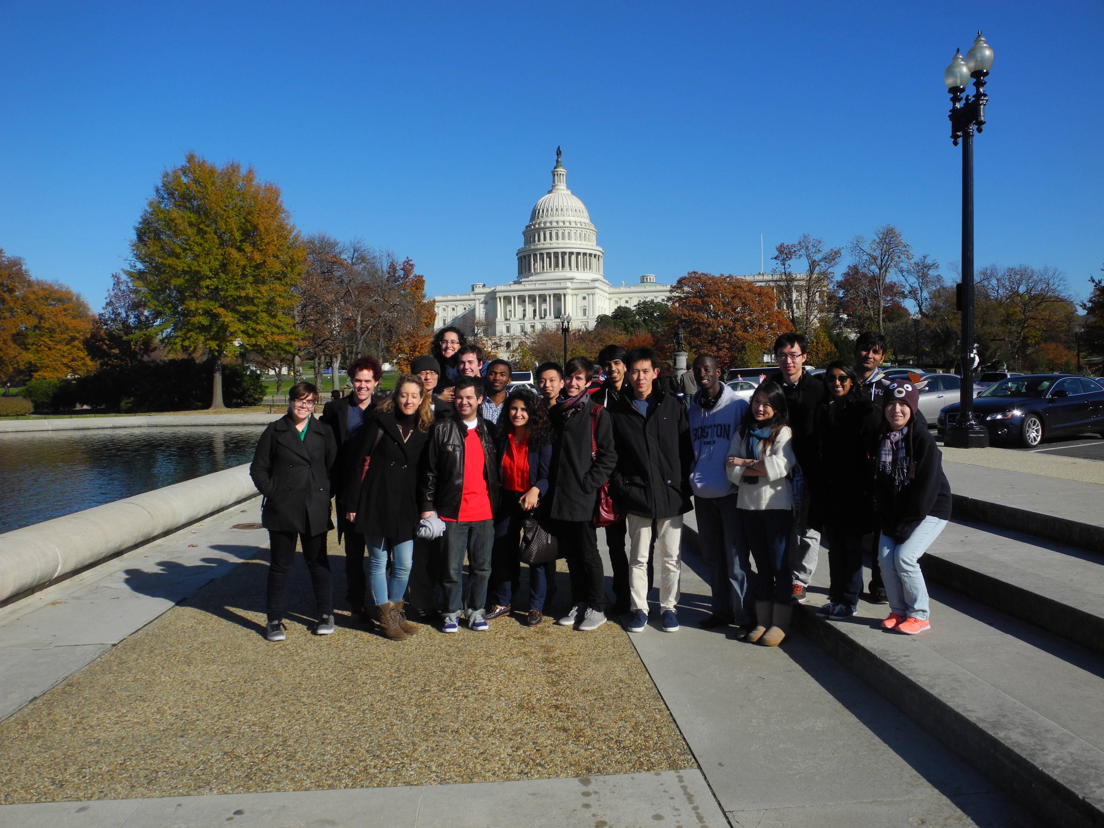NYU Abu Dhabi student bridge gap with Washington, D.C. campus