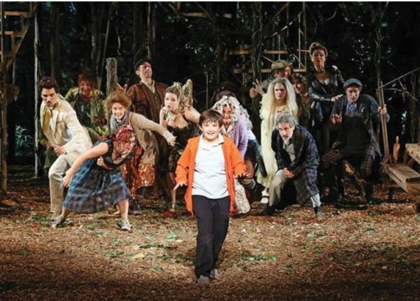 "Lapine and Sondheim take audiences deeper ""Into the Woods"""