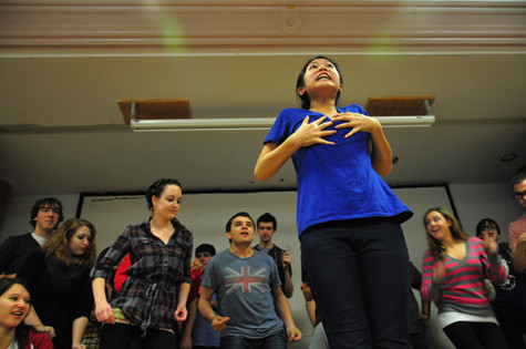 Students stand center stage in fall theater productions