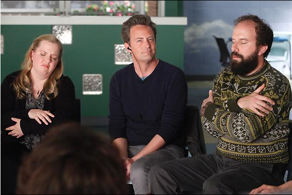 Matthew Perry shines in new NBC comedy, 'Go On'