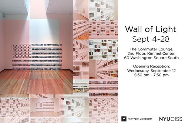 'Wall of Light' gallery illuminates 9/11 unity