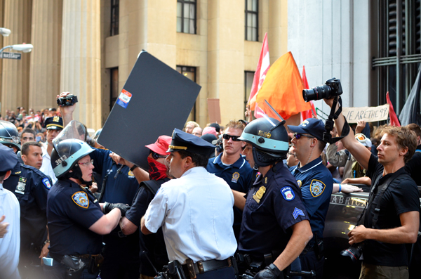 Occupy Wall Street takes over New York in honor of first anniversary