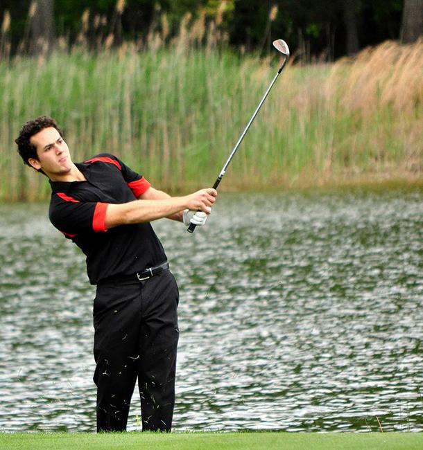 Athlete of the week: Freshman Golfer Kavian Bina