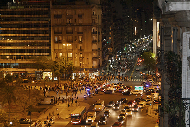 NYU Buenos Aires community responds to growing protest in Argentina