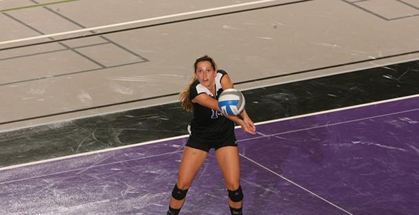 Violets sweep three sets at NYU-Poly