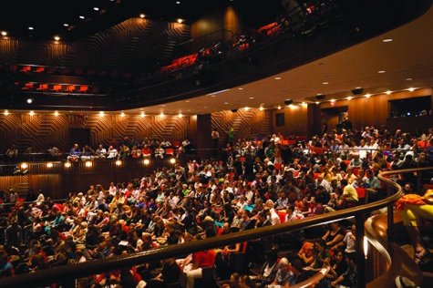 On-campus theater programs offer diverse shows