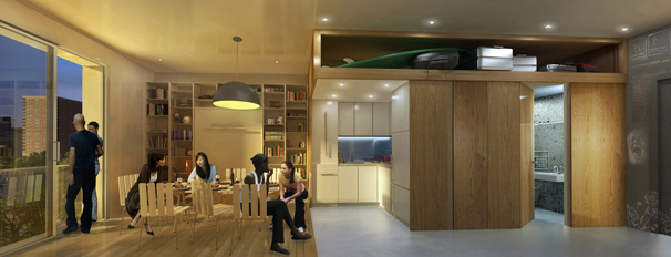 Stackable apartments indicate future for city living