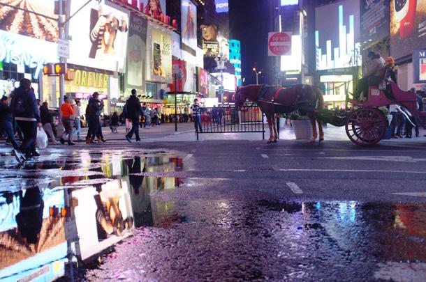 New York City: loud but luxurious