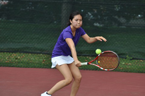 Women's tennis singles, doubles compete in regional championship