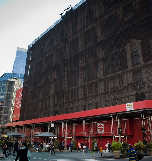 Herald Square Macy's makeover still underway