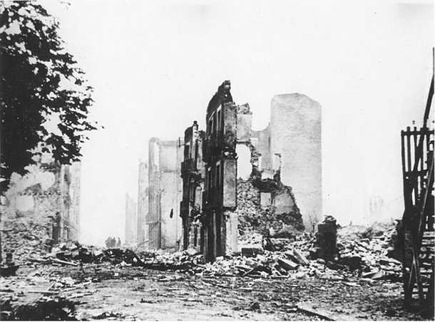 Exhibit displays Guernica as city of peace