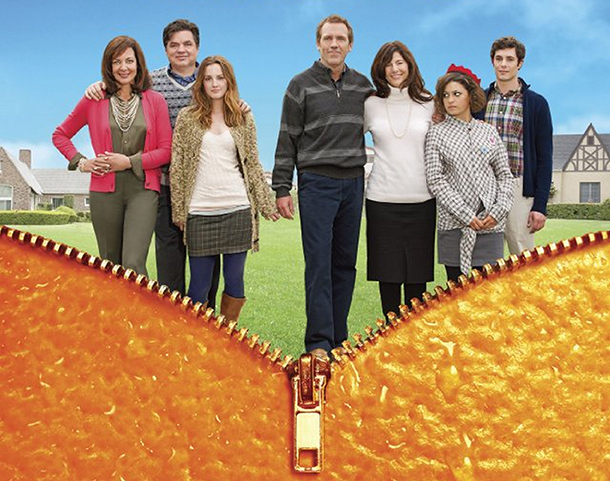 'The Oranges' an uneven family comedy