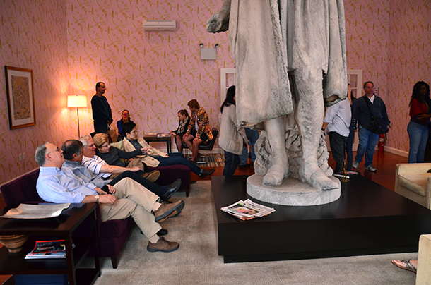 Discovering Columbus exhibit features striking and historic decor