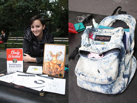 What's in your bag: CAS sophomore Simone Sutnick