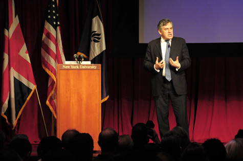 NYU to sponsor Gordon Brown's commission on human rights