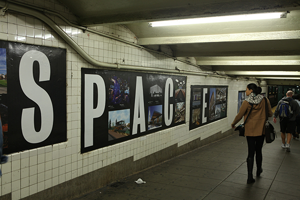 Local subway station features 'Design by New York' for Archtoberfest