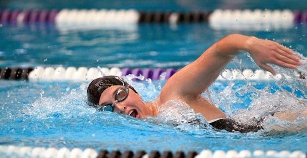 Women's swimming, diving win opening meet for third straight year