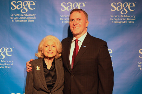 Edith Windsor supports growing LGBT elder community at SAGE Gala