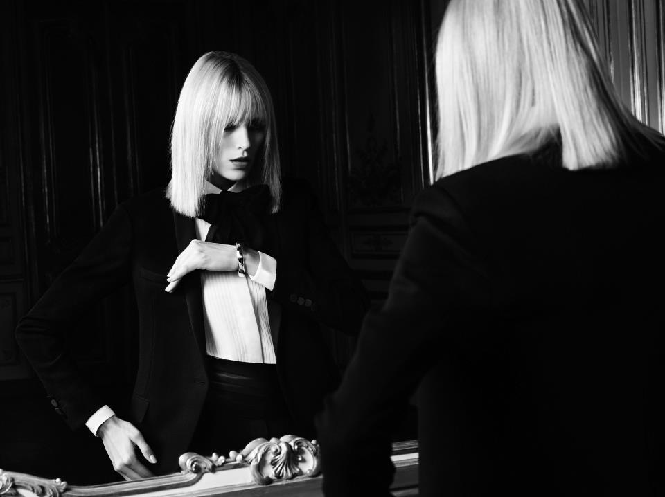 Saint Laurent president offers fashion industry tips