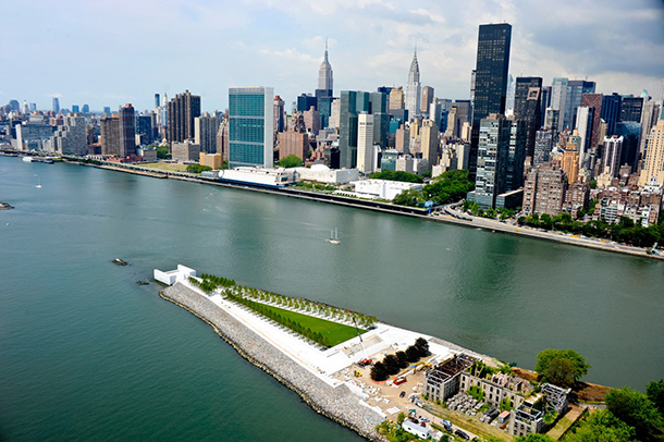Four Freedoms Park opens in Roosevelt Island
