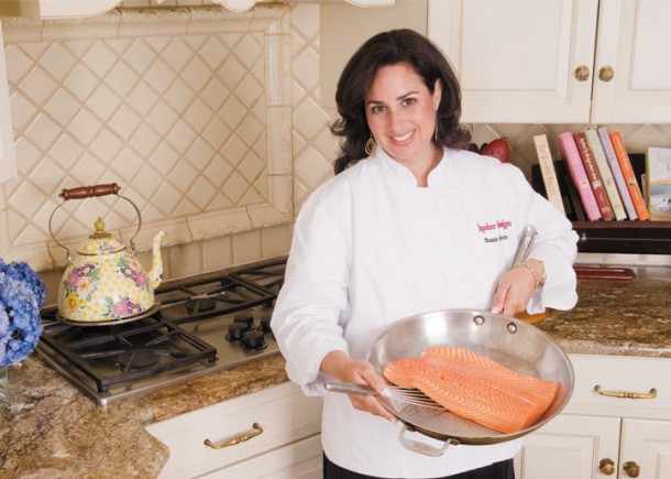 Kosher cook queen gives creative advice at book release