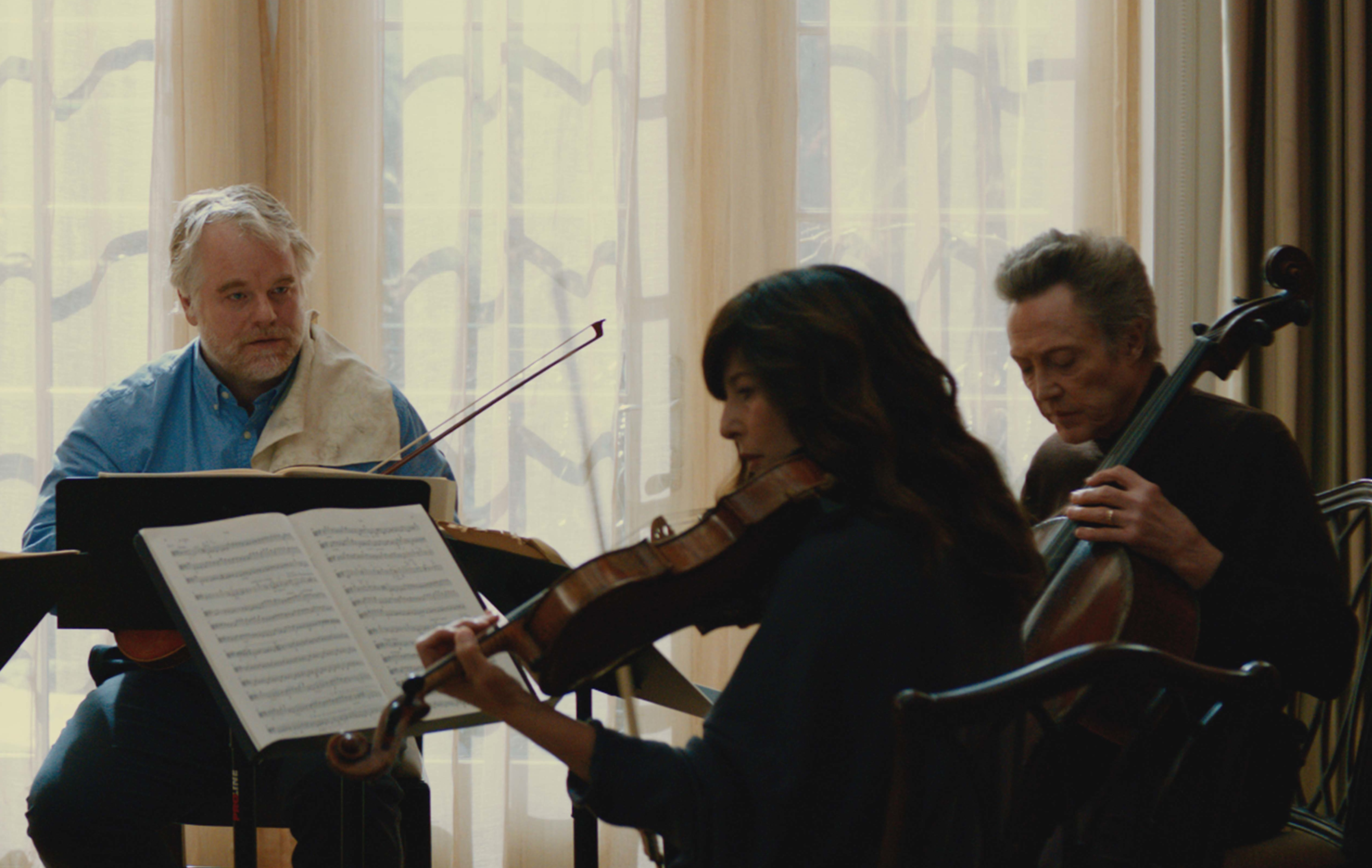 """""""A Late Quartet"""" finds cinematic beauty through classical music"""