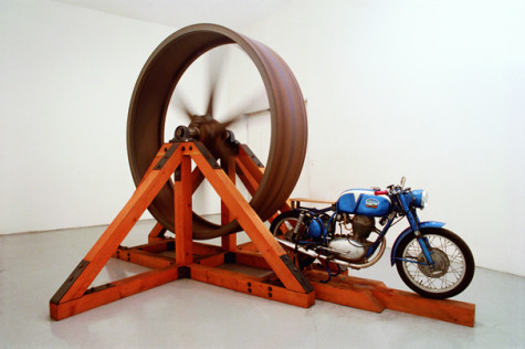 Artist Chris Burden's Extreme Measures at the New Museum