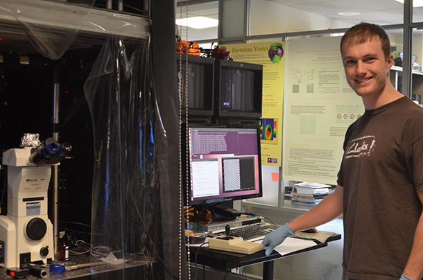 NYU professor and grad student break ground with NASA tractor beam