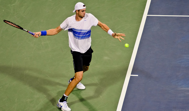 To keep ahead, Isner needs resilient strength and confidence