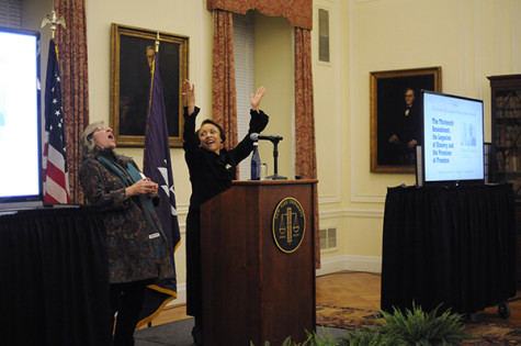 Law school hosts lecture on race, slavery, freedom