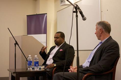 Rev. DuBois speaks to NYU about White House experiences