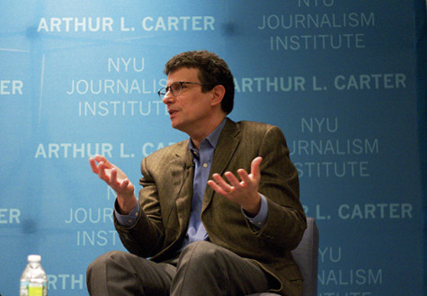 New Yorker Editor David Remnick discusses life, career in conversation at Journalism Institute