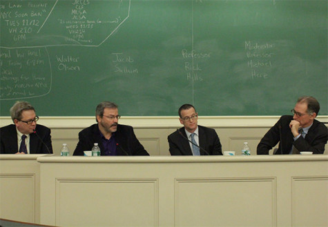 Panel weighs in on soda ban at law school