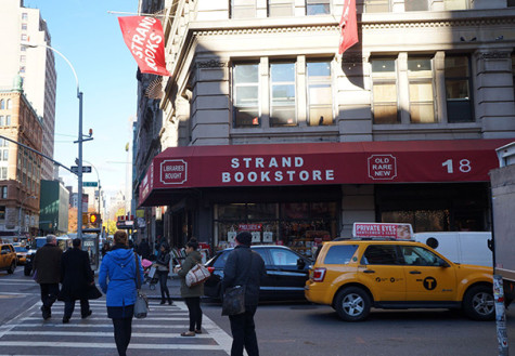 Homeless complain about sprinklers used at Strand Bookstore