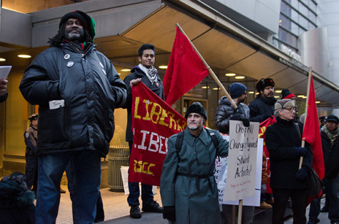 CUNY faculty, students community protest policy