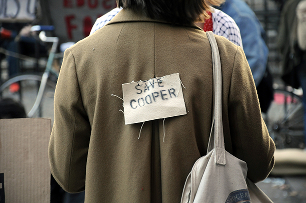 GALLERY: Cooper Union Day of Action
