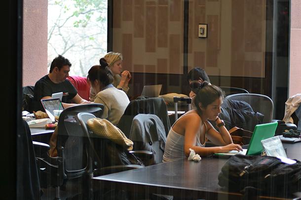 Besides Bobst: alternative study spots