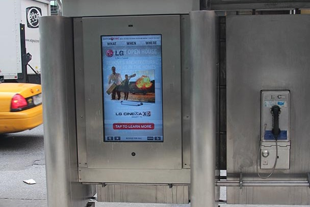 City24/7 replaces pay phones with tablets throughout city