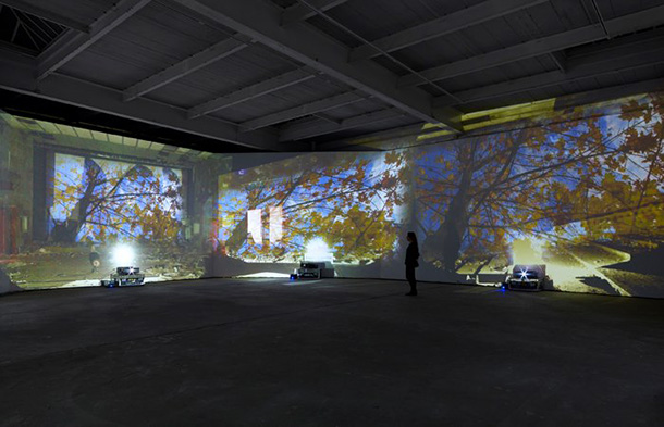 Chernobyl exhibition transports viewers through video