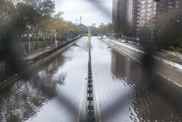 Hurricane Sandy cannot be linked to single cause
