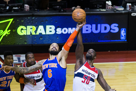 Chandler's absense directly causes Knicks' poor performances