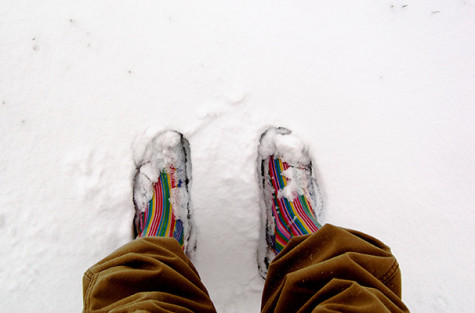 Prevent winter weather from ruining footwear