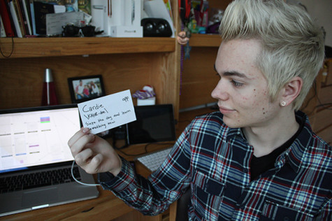 CAS sophomore's app presents alternative to flash cards