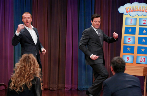 Fallon takes torch from Leno on 'Tonight'