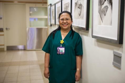Inside the storm: A nurse recognized