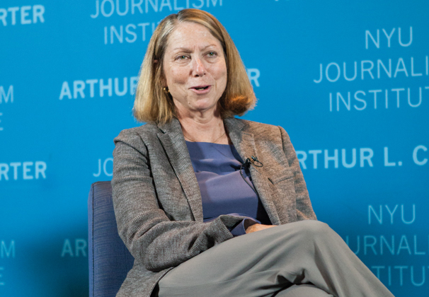 New York Times executive editor visits NYU
